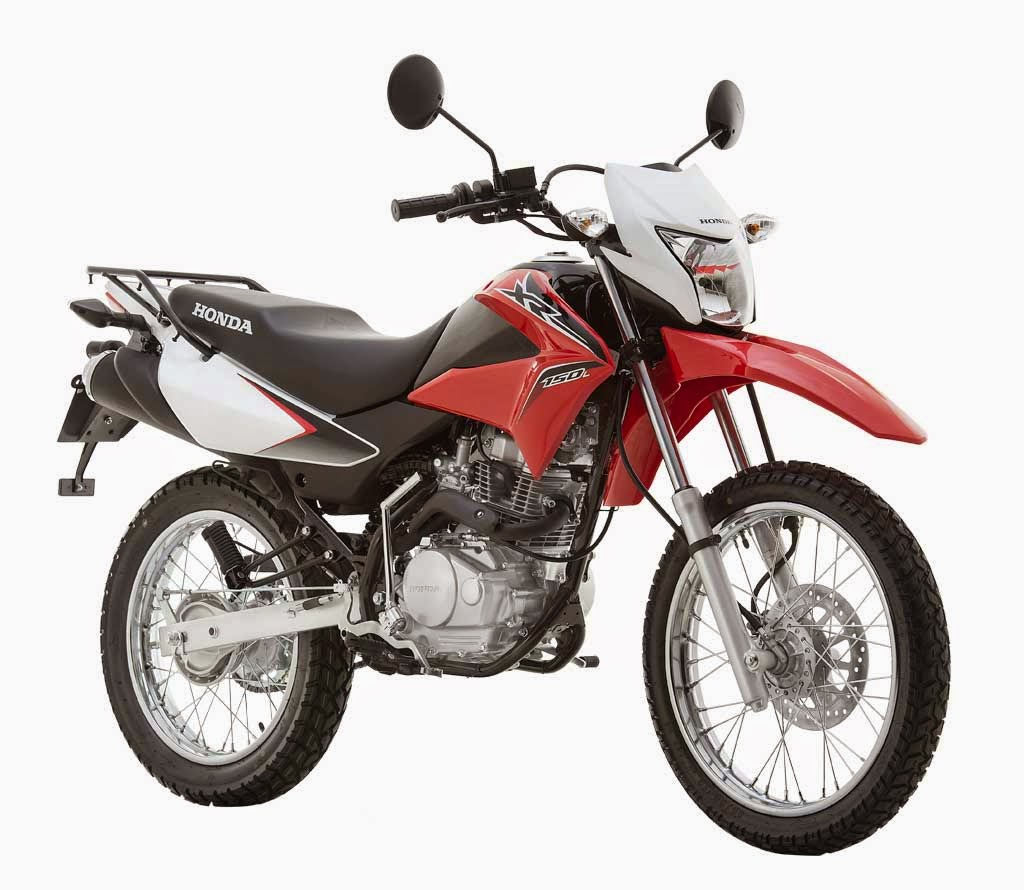 Honda xr 150l dualsports motorcycle