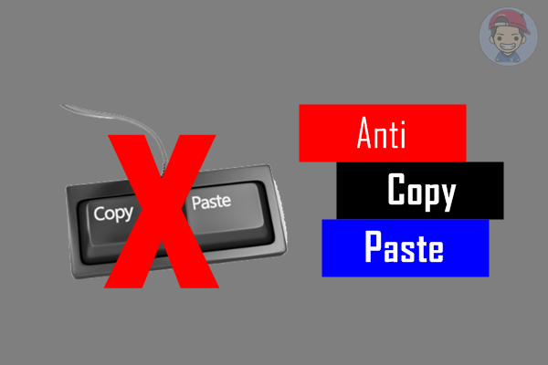 Cara Pasang Anti Copy Paste Kecuali Bagian Tertentu Dalam Blog