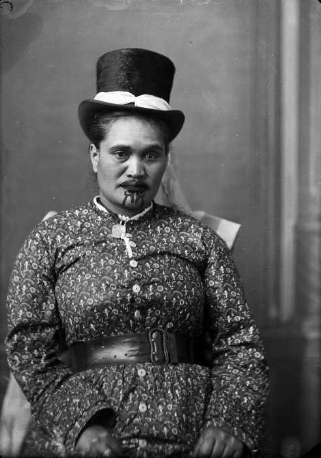 Moko Kauae 30 Incredible Portraits of Maori Women With