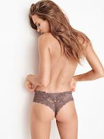Josephine Skriver topless photoshoot in Victoria's Secret sexy lingerie model