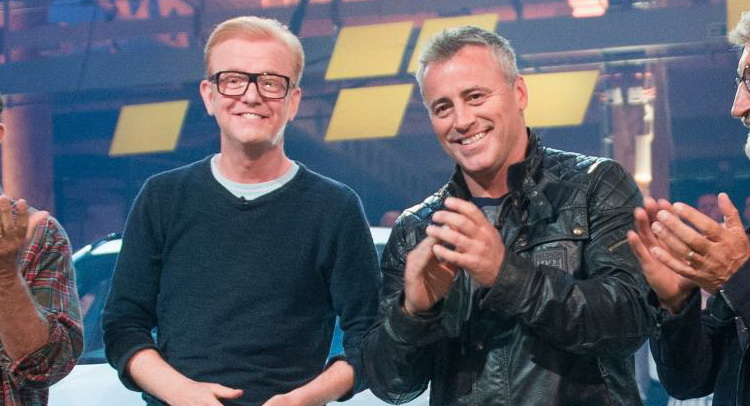 Chris Evans Reportedly Got Told Off By Top Gear Bosses