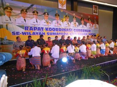 Dua Gubernur Tidak Datang Pada Rakor Se-Sumatera di Aceh