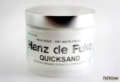 Hanz de Fuko Quicksand, Haarwachs. David Beckham's Hairstyling Wachs