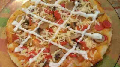 Pizza Teflon Simple Simple
