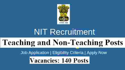 Govt Jobs in NIT