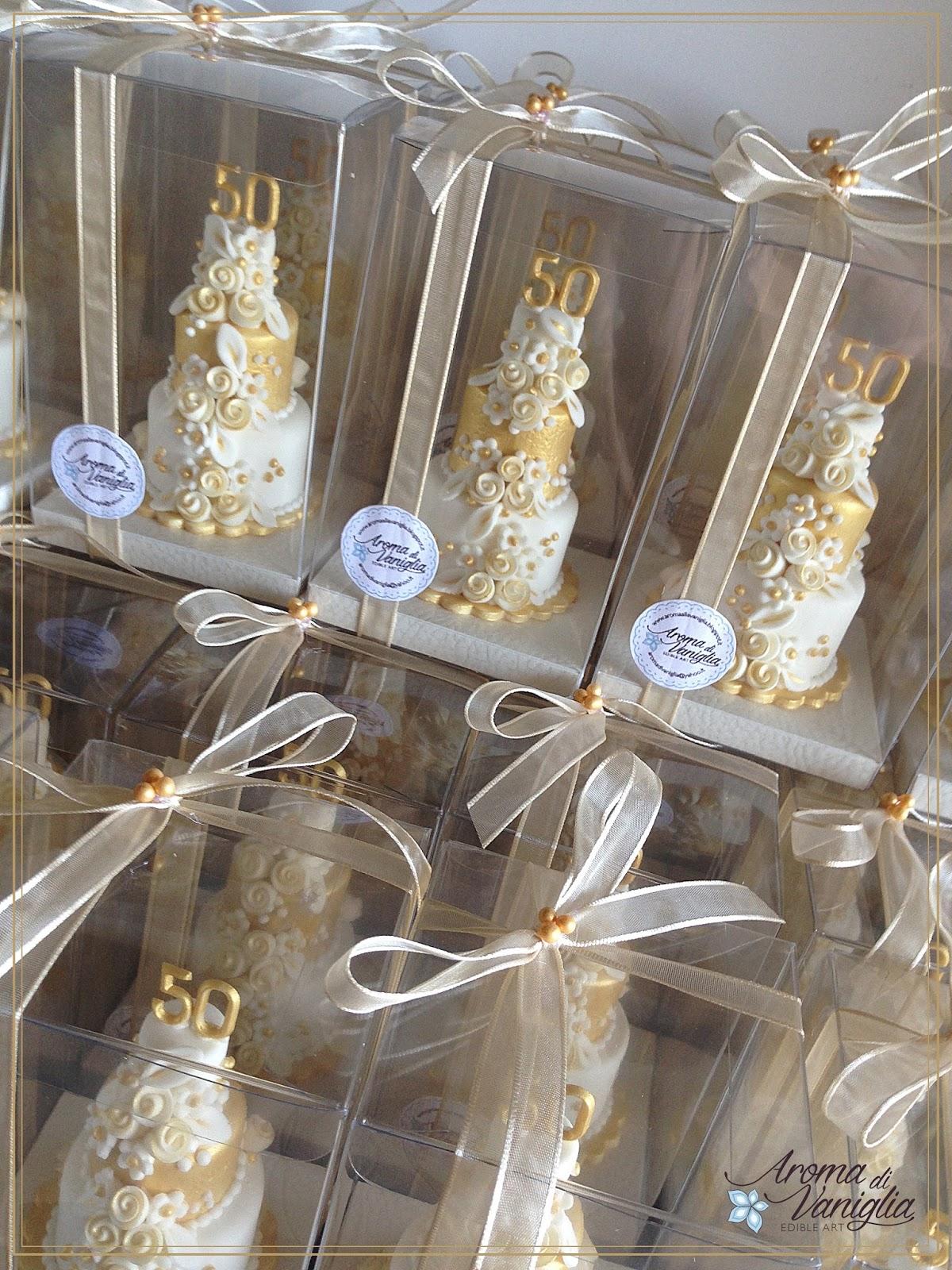 Ben noto aroma di vaniglia: nozze d'oro AW89