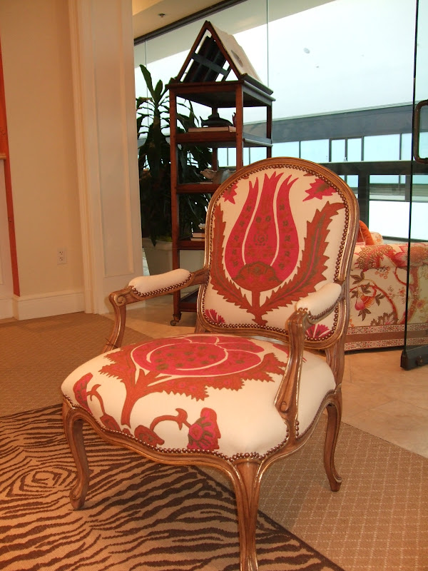 We Also Visited The Lee Jofa Showroom Were Saw This Gorgeous Chair With Brunschwig And Fils Fabric Love