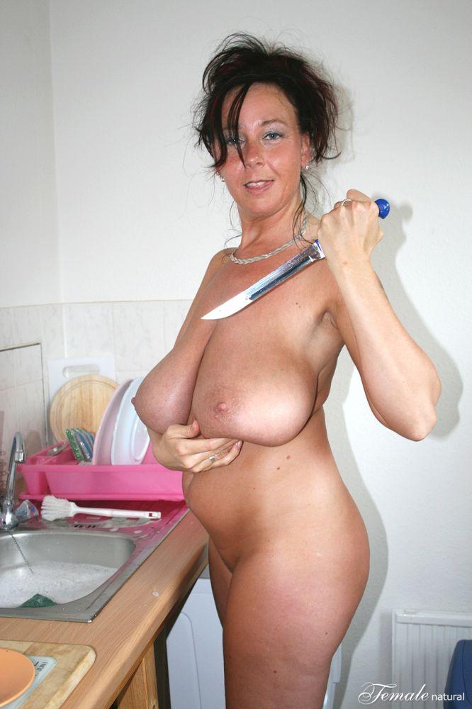 Huge Saggy Mature Tits HD