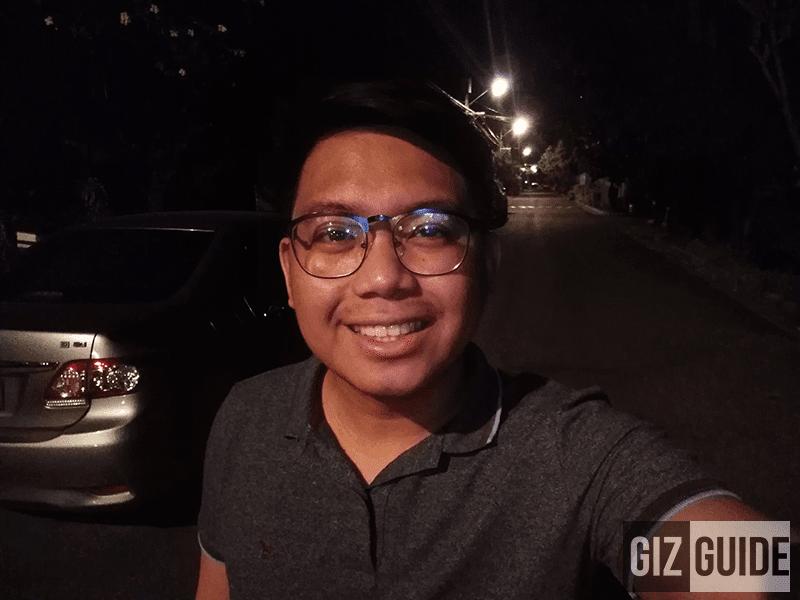 Lowlight selfie