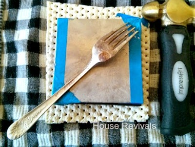 How To Flatten Silverware For Up Cycling Projects