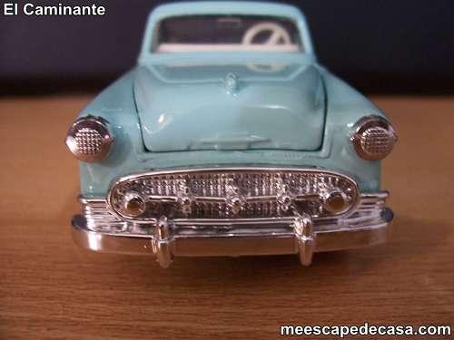 Chevrolet Bel Air- Año 1955 (auto a escala, de frente)