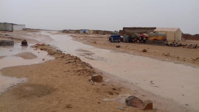 Catástrofe en los campamentos saharauis por lluvias torrenciales.