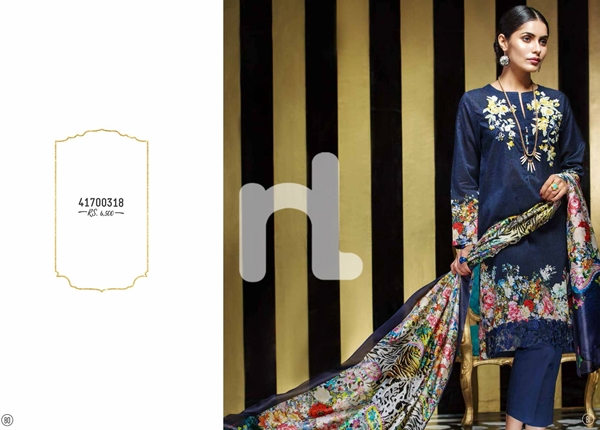 Latest Nishat Linen Festive Eid 2017 Collection