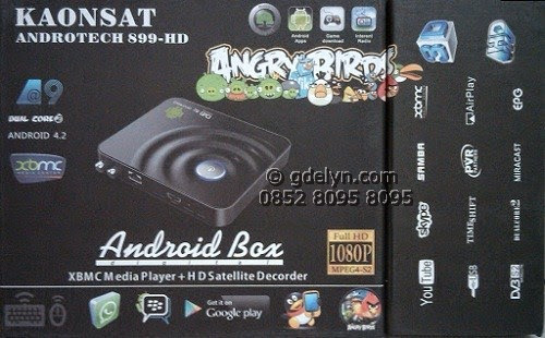 Receiver HD Android Kaonsat Androtech 899