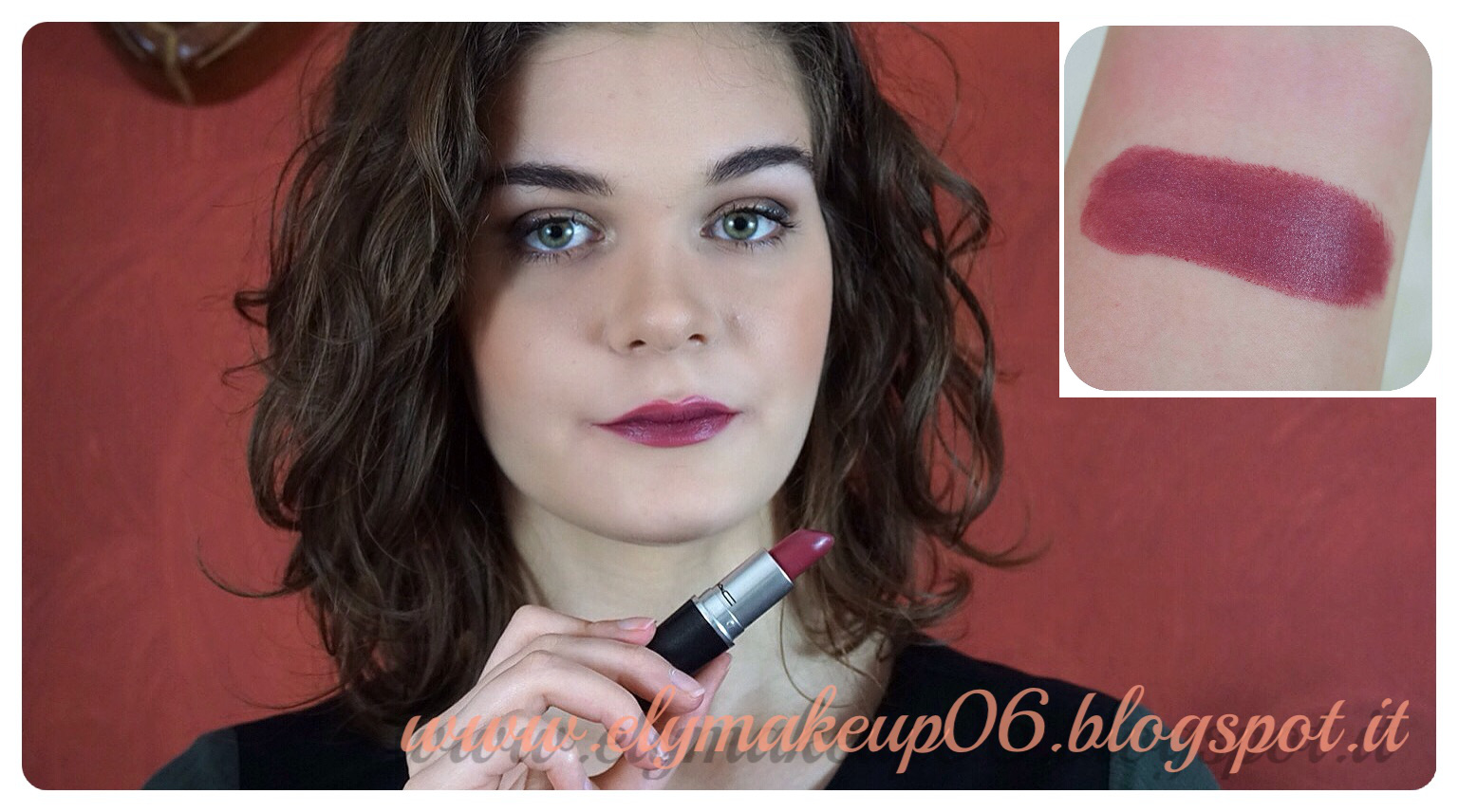 Top ElyMakeup: My Mac Lipstick Collection | I Miei Rossetti Mac Swatch  ZZ44