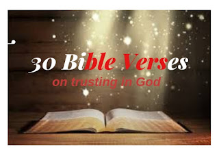 bible verses about trusting in God