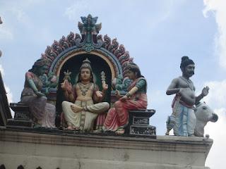Sri Mariamman Temple, Chinatown, Singapura