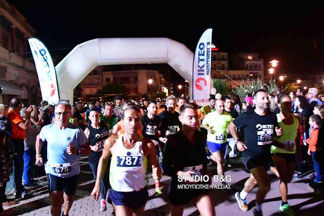 Με τεράστια επιτυχία και συμμετοχή ο 1ος Νυχτερινός Αγώνας Δρόμου στο Άργος