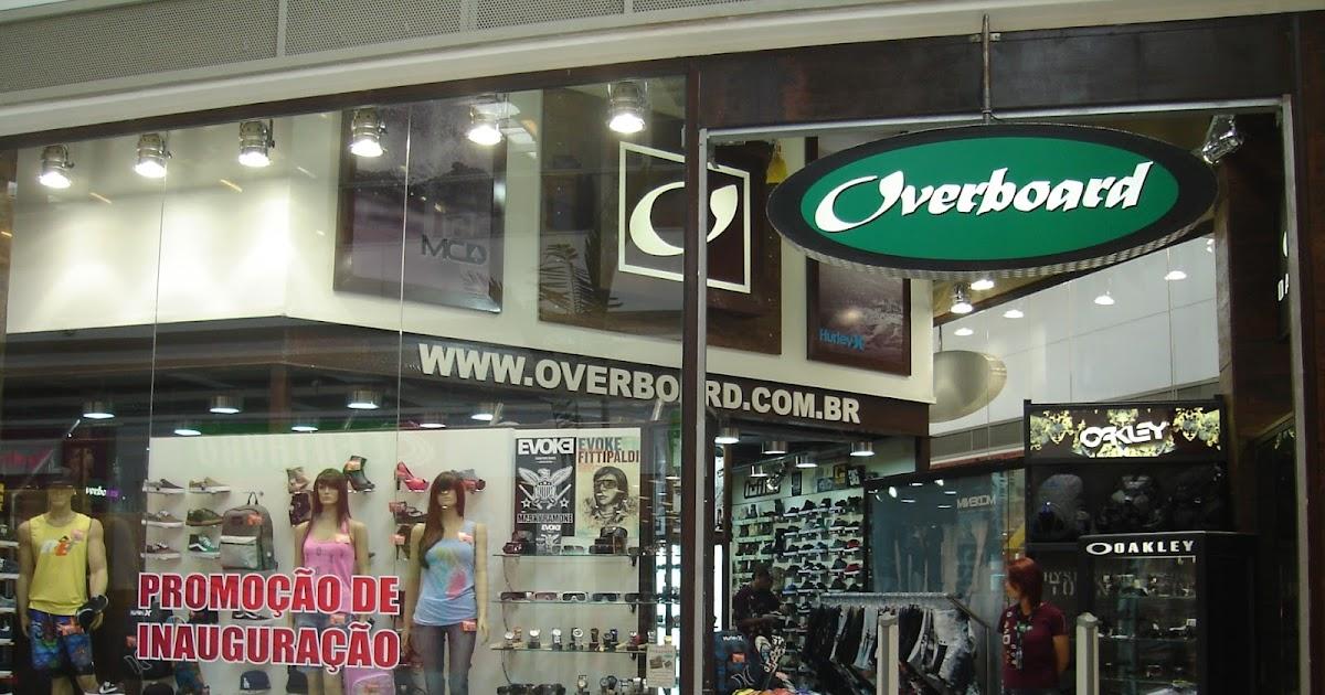 6657d9e4fc Overboard inaugurou loja no Shopping Tamboré
