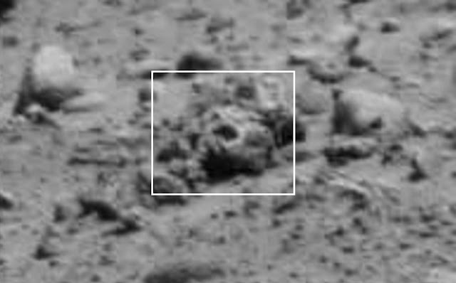 Mars anomaly images showing Alien things