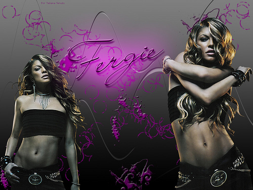521 Entertainment World: 521 Entertainment World: Sexy Fergie Hot Sizzling Wallpapers