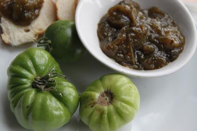 Konfitura z zielonych pomidorów