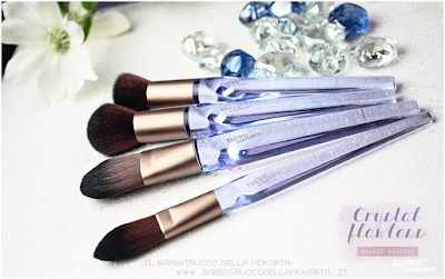 NeveCosmetics Crystal Flawless Brushes face