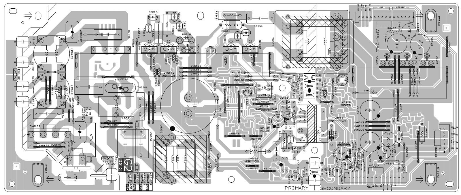 Electro Help  Sony Klv-32bx300 - Klv-40bx400 - Main Power Smps