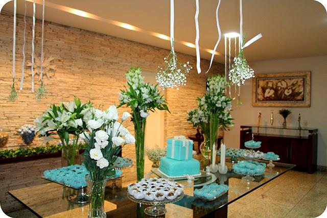 Decoração de Aniversário Azul Tiffany & Co.