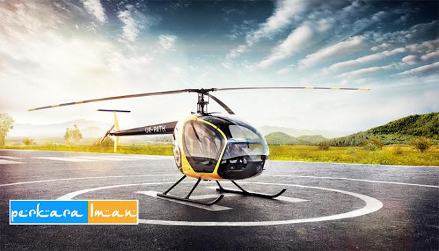 Tamsil Dakwah Naik Helikopter