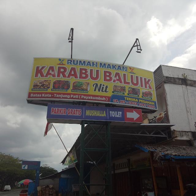 Karabu Baluik NIT Payakumbuh