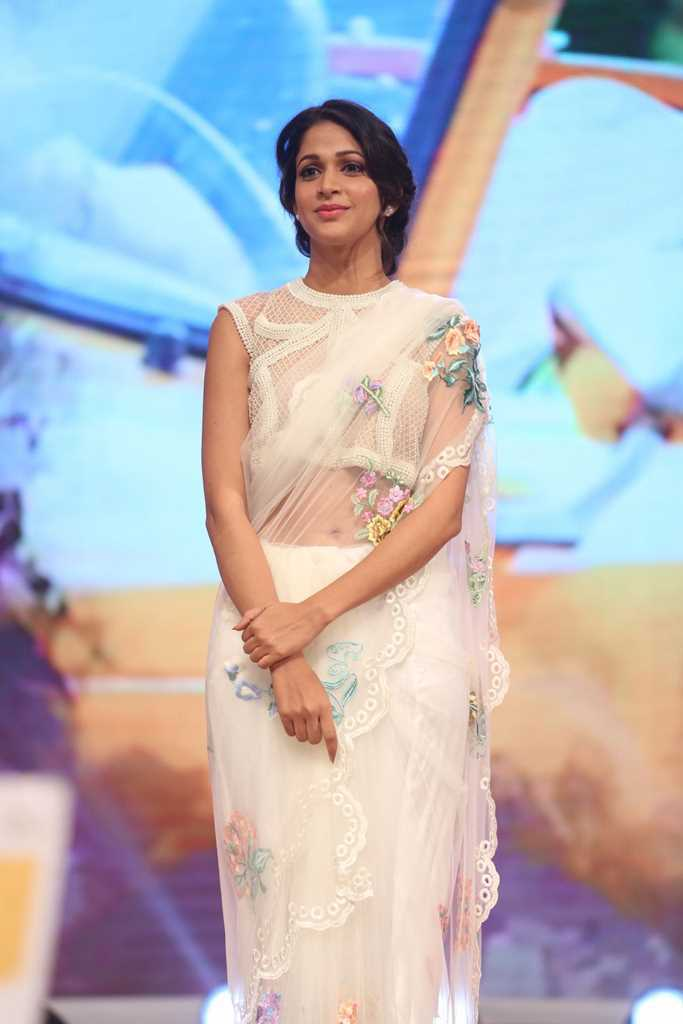 Lavanya Tripathi In White Saree