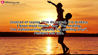 PTSD Positive Thinking Quote