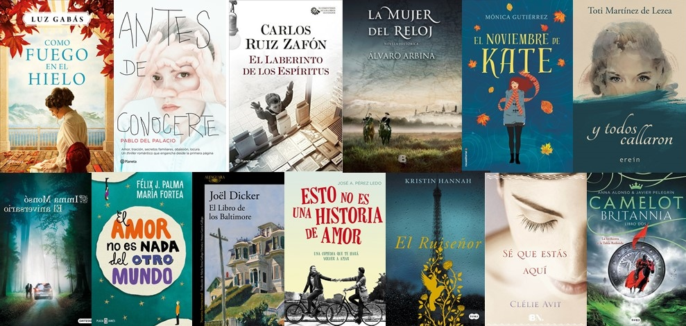 El Búho Entre Libros: LIBROS PARA SAN VALENTÍN 2017