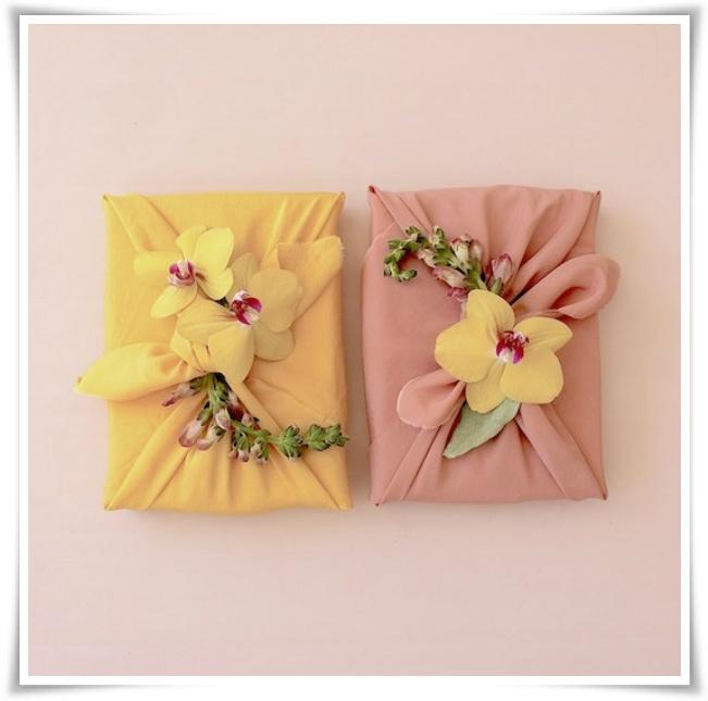 Furoshiki - Embrulho japonês com lenço