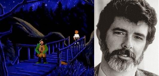 George Lucas Monkey Island