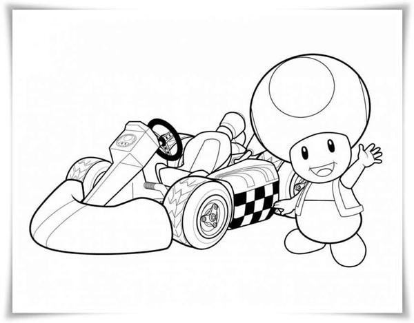 Mario Kart Malvorlagen Ausdrucken My Blog