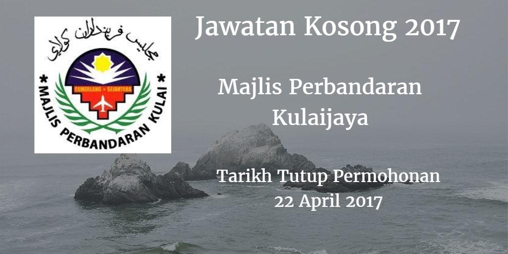 Jawatan Kosong MPKU 22 April 2017