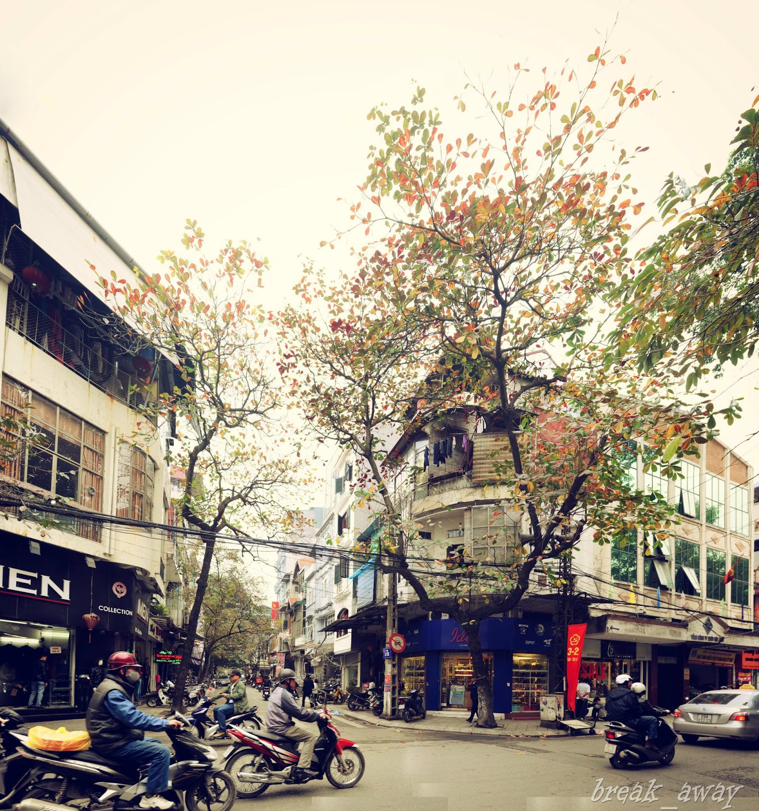 Hanoi Autumn Photos