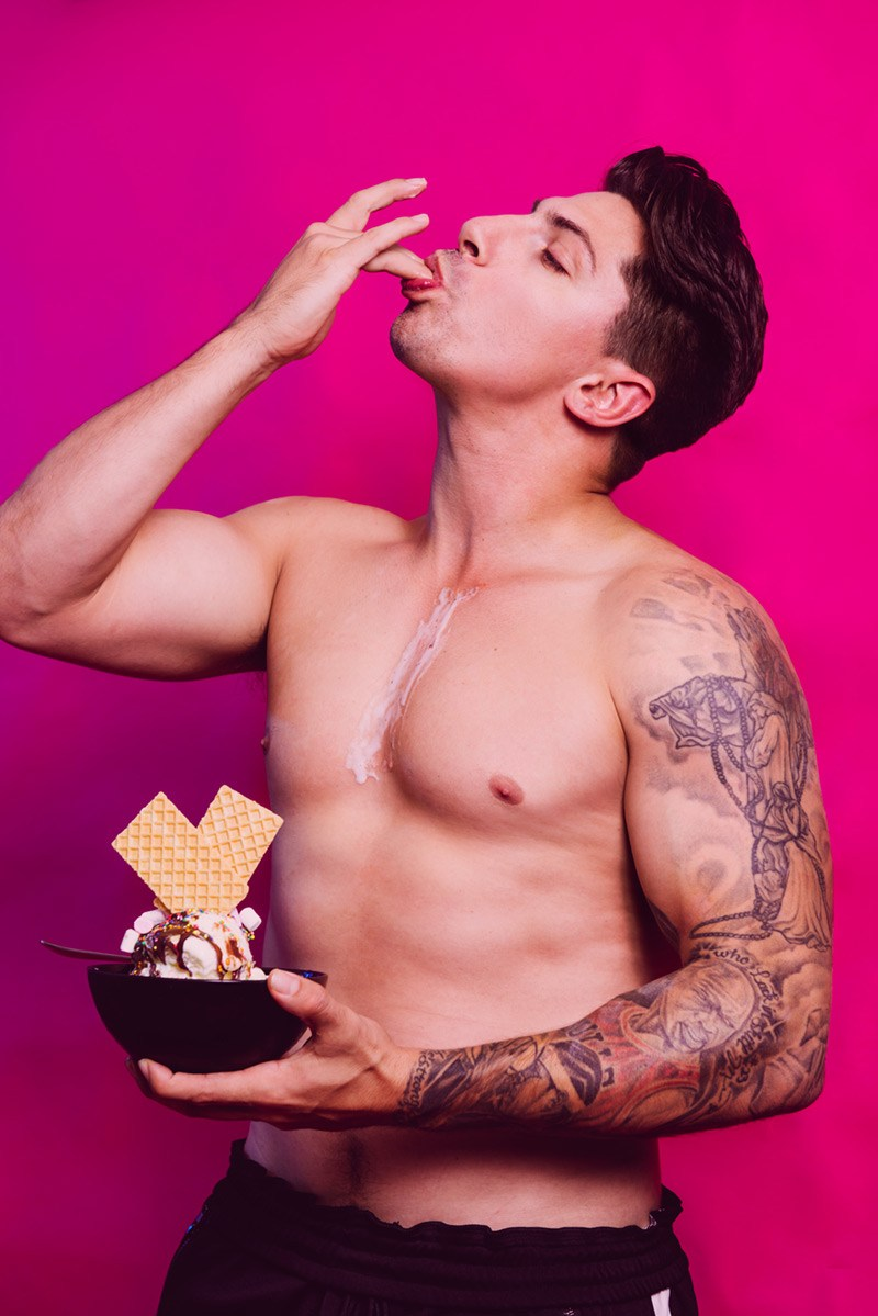 Candy: Beau Shirtless by Joel Devereux