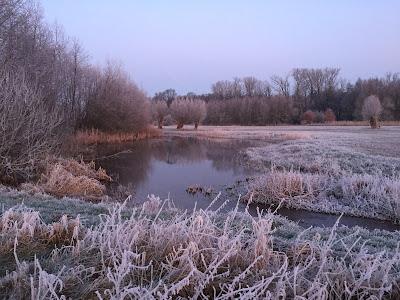 winter nabij B&B t Witte Voorhuus te Zelhem, overnachten aan het Pieterpad.