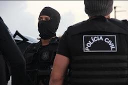 Polícia Civil cumpre dois mandados de prisão por homicídio e formação de quadrilha
