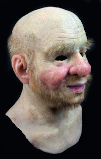 This silicone old man mask would be the crowning touch of your hobo costume. From themasker on Etsy.