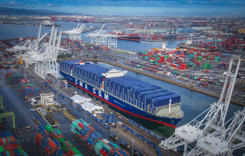 CMA CGM Postpones Plans to Send Mega-Ships to United States