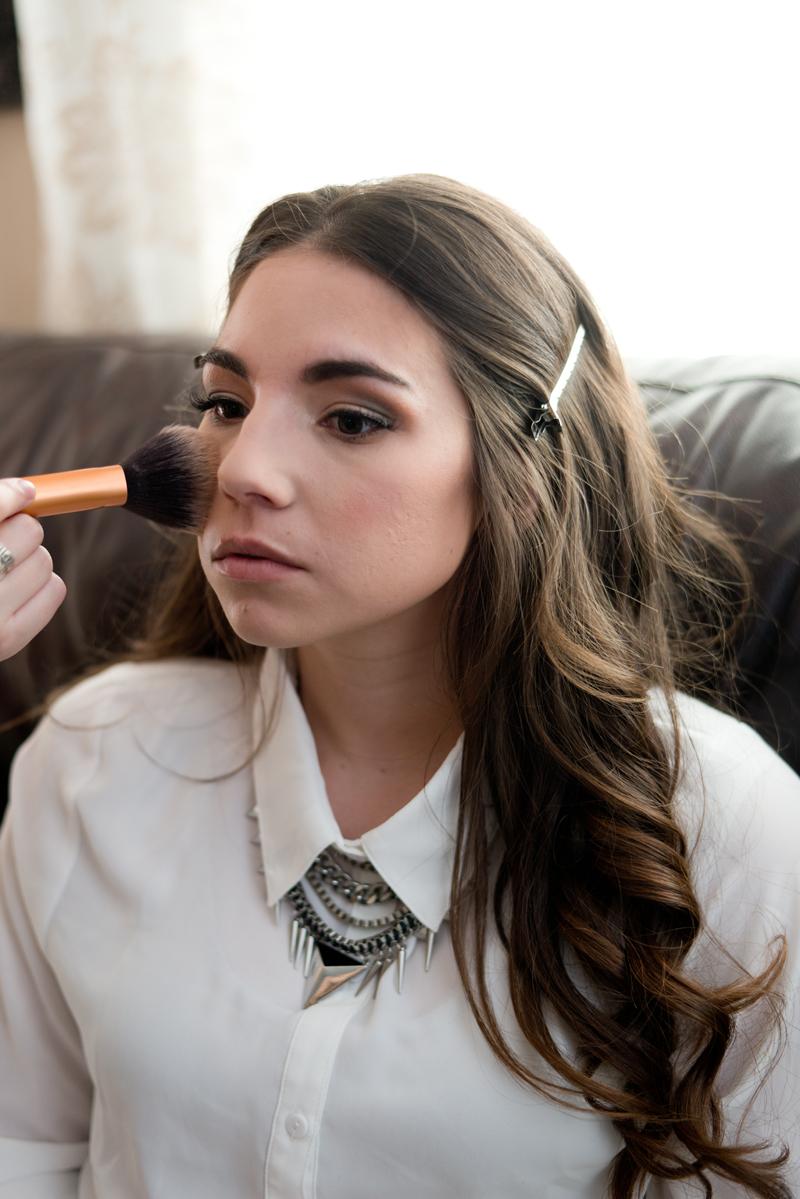 makeup highlighting