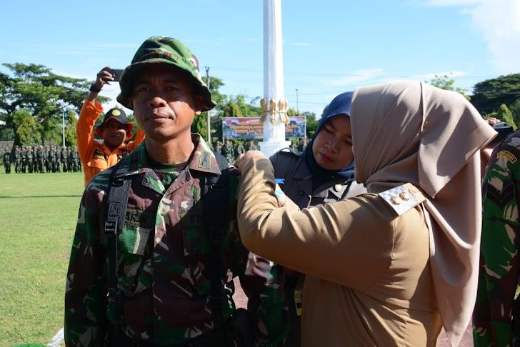 Wakil Bupati Sinjai, Membuka Latihan Penanggulangan Bencana Alam