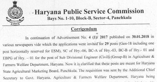 HPSC Recruitment 2018 | Apply for 75 Naib Tehsildar through hpsc.gov.in