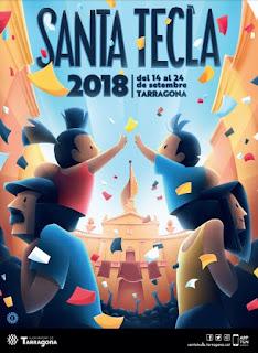 CARTELL SANTA TECLA 2018