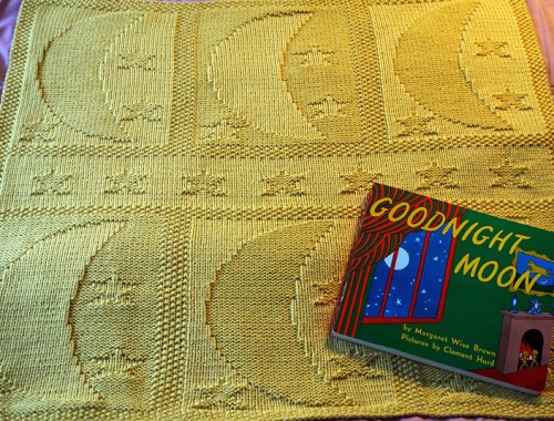 Moon & Stars Baby Blanket - Free Pattern