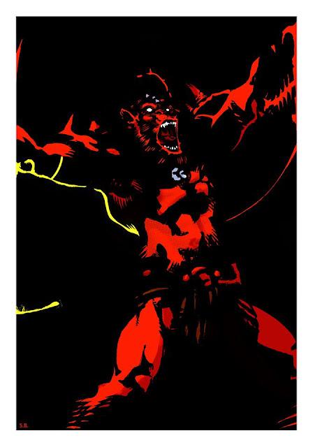 Sudario Brando Beast-Man